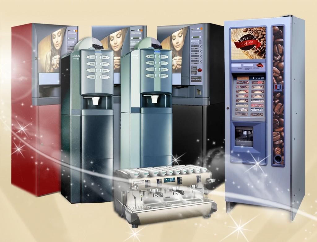 Kávéautomaták bérlése